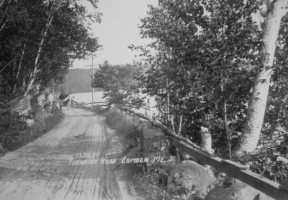 Old Turnpike Road in Camden, Maine
