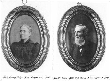 Delia Maria Evans and John William McCoy (photograph courtesy of Ellen Sutton)